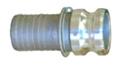 Aluminum Male Hose Shank Camlock Adapter
